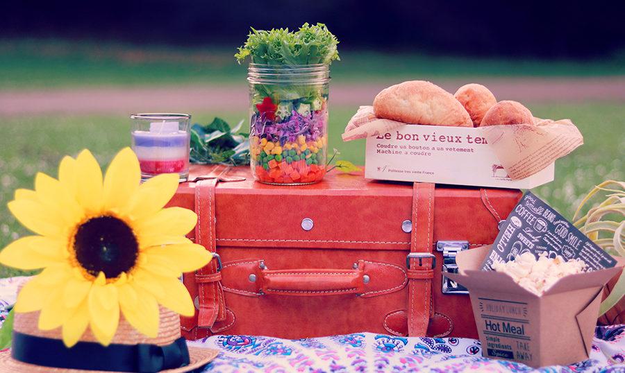 お洒落ピクニック、略しておしゃピクです