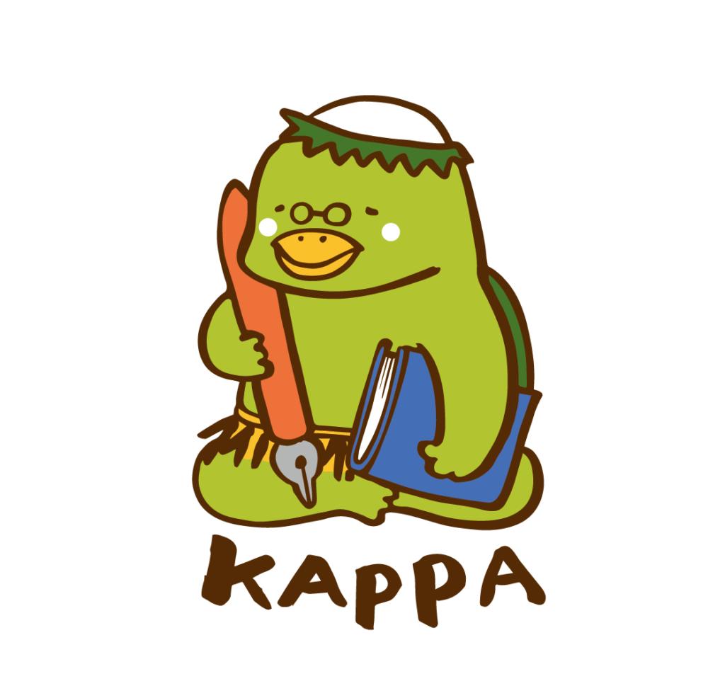 かっぱのキャラクターデザイン