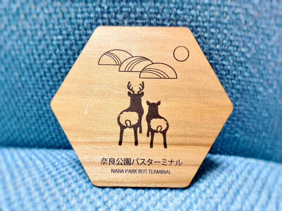 奈良公園バスターミナルのノベルティ
